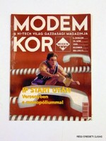 1999 december  /  MODEM KOR  /  RÉGI EREDETI MAGYAR ÚJSÁG Szs.:  1723