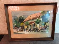 Török Gyula festmény