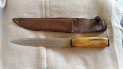 Agancs markolatú acél kés