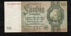 Német 50 Márka 1933 nagyon szép