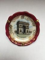 Limoges porcelán vitrindísz