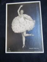 HONTHY HANNA MÉG NEM PRIMADONNA HANEM BALERINA VISZONT HÜGEL HAJNALKA RITKA 1908 FOTÓLAP FÉNYKÉP