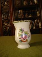 Herendi viktória mintás váza, 12,5cm