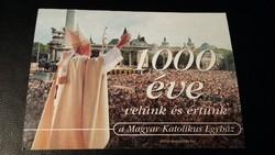 Magyar Katolikus Egyház által kiadott képeslap népszámlálásra