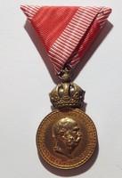 I. Ferencz József Signum Laudis, kitüntetés