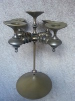 Képcsarnok által zsűrizett ötágú fém gyertyatartó