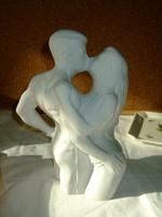 Világhy Árpád Fajansz porcelán szobor