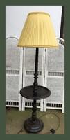 180cm magas állólámpa,asztalka résszel