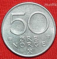 50 Öre - Norvégia - 1975.