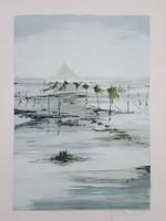 Francia művész: Francia tengerpart, Mont St. Michel