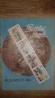 FILATÉLIAI SZEMLE 1961  XI.évfolyam 10.szám