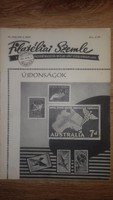 FILATÉLIAI SZEMLE 1957  VII.évfolyam 8.szám