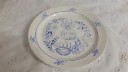 Kék díszítésű kerámia tányér eladó!