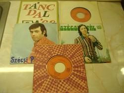 Szécsi Pál kislemezek: 1960-70-es évekből: Maradj még/Mint a violák/Adagio (Albinoni - Szakály L