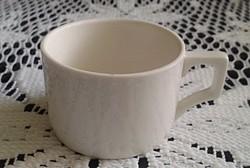 Régi Zsolnay fehér kávés csésze
