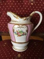 Altwien porcelán kancsó / kiöntő - 1862, Bieder stílus