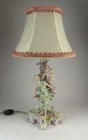 0G456 Antik meisseni jellegű alakos porcelán lámpa