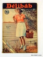 1937 május 22  /  DÉLIBÁB RÁDIÓMŰSOR  /  RÉGI EREDETI MAGYAR ÚJSÁG Szs.:  3667