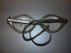 Antik régi gyerek szemüveg - rugós szárú