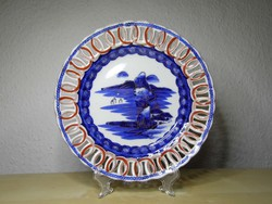 Ritka japán porcelán tányér mester jelzéssel Meidzsi (1868–1912) hibátlan állapotban !