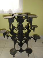 At deco designer virágtartó(?)vasból