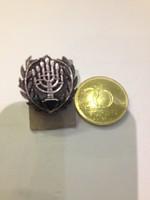 Ezüst zsidó nyakkendőtű