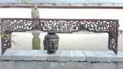 Nagyméretű, antik kínai faragás (2)!