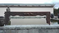 Nagyméretű, antik kínai faragás (3)! Black friday szombat estig!