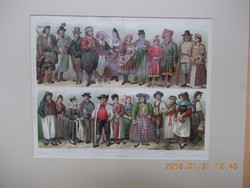 Európai viseletek