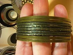 Vintage bronz karperec