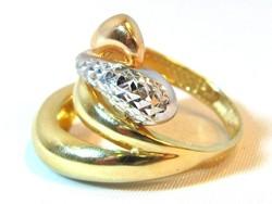 Női arany gyűrű (kecs-Au58670)