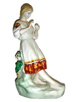 Nagyméretű Polonsky zhk ukrán porcelán figura