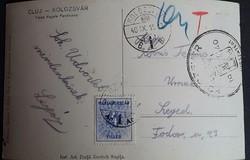 Kolozsvár 1940.szept.11.szerdai napon vonultak be a magyar csapatok,a lapot szept.15.adták fel