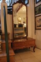 Neobarokk fésülködő tükör