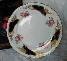 Weimar porcelán süteményes tányér, kistányér