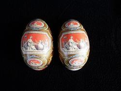 Retró fém tojás