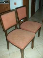 Art deco 2 db szék
