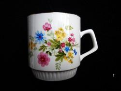 Zsolnay ritka mintás teás csésze (2.)