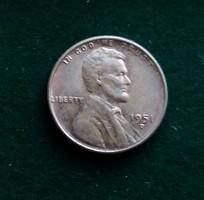 USA 1 cent 1951 D /2.