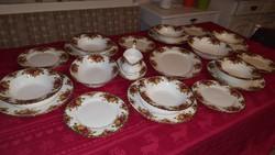 Royal Albert Angol porcelán étkészlet 6 személyre
