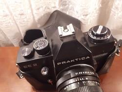 Praktika fényképező gép tokjában