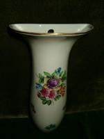 Herendi szenteltvíz tartó fali váza