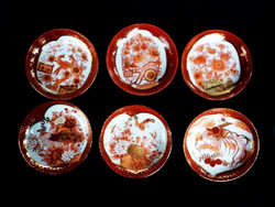 Kézzel festett japán tálka készlet
