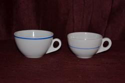 2 db Zsolnay vastag falú kávés csésze  ( DBZ 00101 )