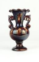 0Q078 Ifj. Badár Balázs mezőtúri váza 14 cm