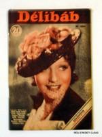 1937 szeptember 18  /  DÉLIBÁB RÁDIÓMŰSOR  /  RÉGI EREDETI MAGYAR ÚJSÁG Szs.:  3684