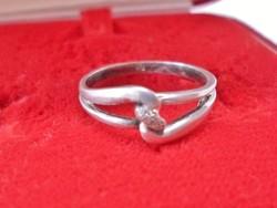 Szép végtelen szimbólumos  ezüstgyűrű