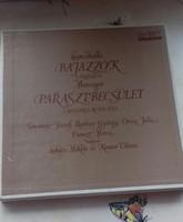 Bajazzók Parasztbecsület hanglemezek díszdobozban 80 as évek