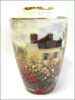 Claude Monet : A művész háza, Goebel porcelán váza