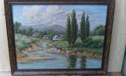 Neogrády stílusában készült festmény